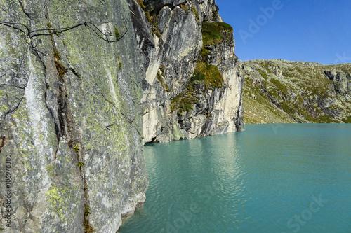 Foto op Plexiglas Alpinisme Klettersteig, Kristallklettersteig Uttendorf, Weißsee