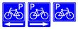 znak parking rowerowy
