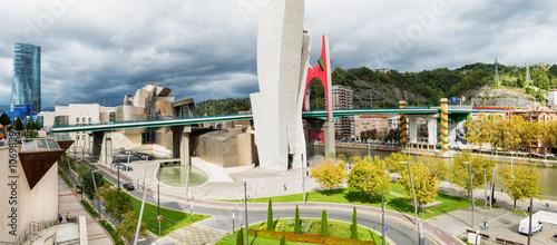 Photo  Cityscape Bilbao