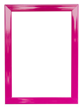 Pink Frame Abstract Background Has Clipping Path