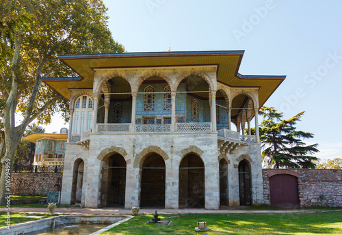 Baghdad Kiosk in the Topkapi palace