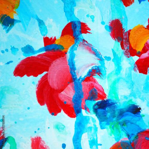 ozdobny-abstrakcyjny-obraz-malowany-akwarela-w-zywych-barwach