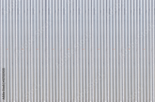Foto  Metal door corrugated Iron Panell texture  Background