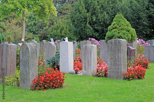 Foto op Canvas Begraafplaats friedhof