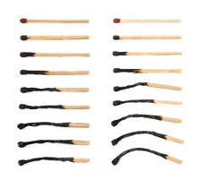 Different Stages Of Match Burning