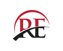 RE Red Letter Logo Swoosh