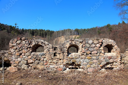 Foto op Aluminium Rudnes The cannon foundries ruins
