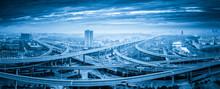 Panoramic View Of Interchange ...