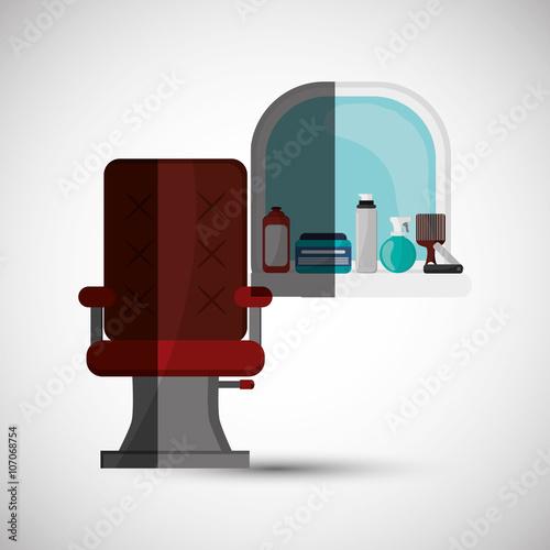 Photo  Hair salon design, vector illustration
