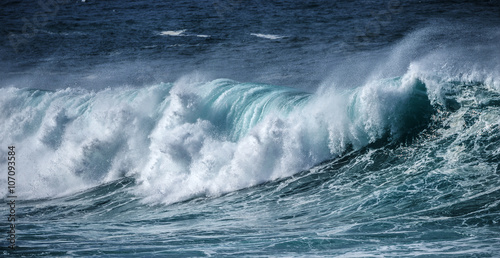 Wall Murals Ocean big sea wave