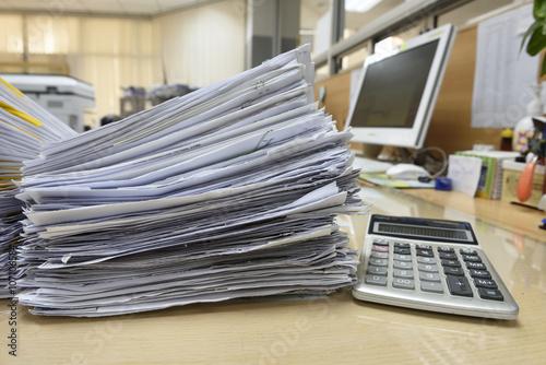 Fotografía  documents files