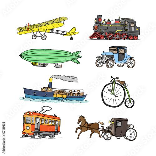 Fotografie, Obraz  Retro transport