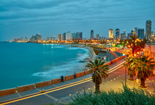 Tel Aviv, Israel. After Sunset...