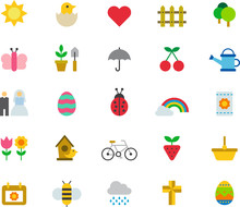 SPRING Colored Icons