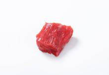 Raw Beef Meat Chunk