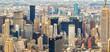 Stunning panoramic view of New York City - NY - USA