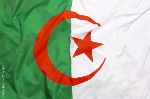 In de dag Algerije Flag of Algeria