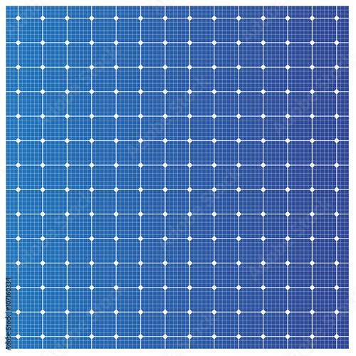 Obraz Solar cell pattern, vector - fototapety do salonu