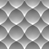 Seamless pattern. Convex and concave optical effect. - 107162576