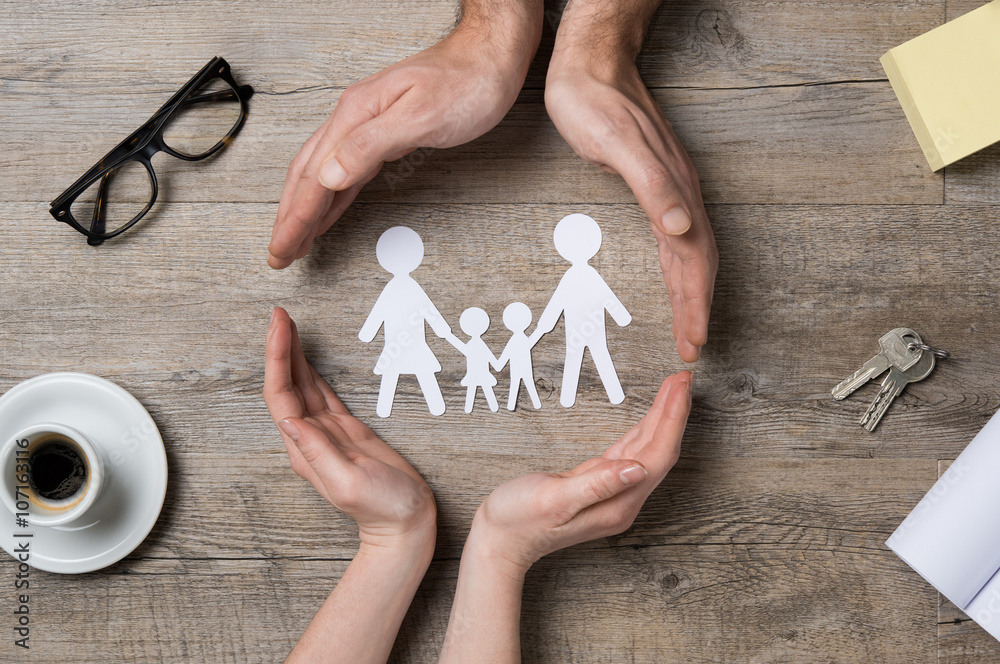 Fototapety, obrazy: Family care