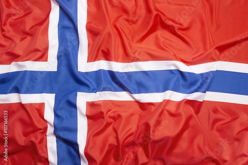 Photo Flag of Norway