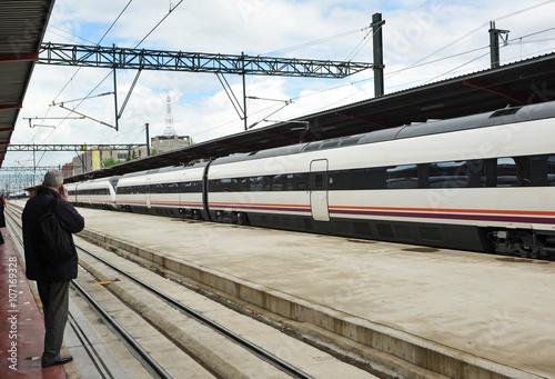 Foto auf AluDibond Bahnhof Estación de Chamartín en Madrid