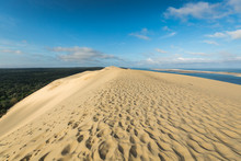 Great Dune Of Pyla, The Tallest Sand Dune In Europe, Arcachon Ba