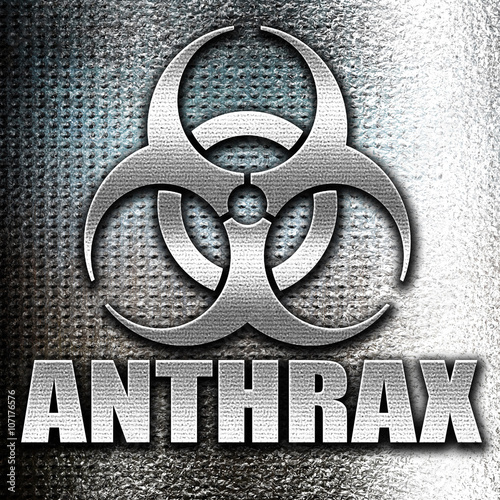 Anthrax virus concept background Wallpaper Mural