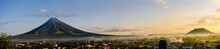 Mt. Mayon In Panorama