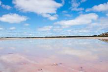 Scenic Salt Lake Reflection Ou...