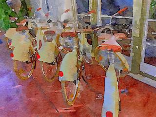 Nice Row of Bikes