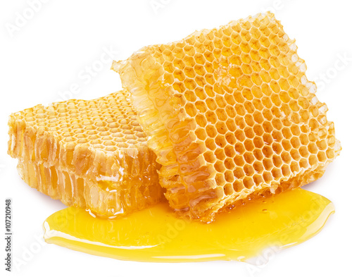 Honeycomb. High-quality picture contains clipping paths.