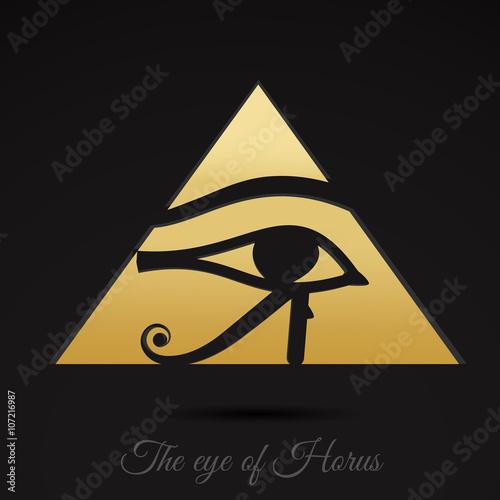 Horus eye vector art  - Buy this stock vector and explore