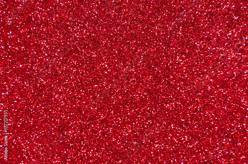 red glitter texture abstract background - 107217555
