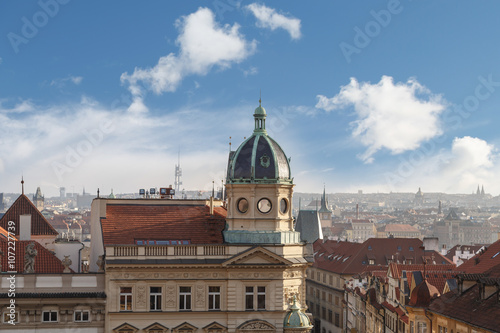 In de dag Madrid Gothic Historic Buildings in Prague
