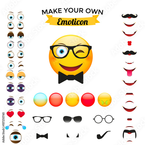 Make Your Own Emoticon Poster