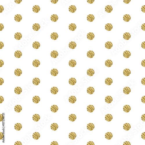 zlota-folia-polyskuje-polysk-bialy-wzor-polkadot-wektor-migotac-streszczenie-kola-zlota-tekstura-tlo-blyszczace-kulki