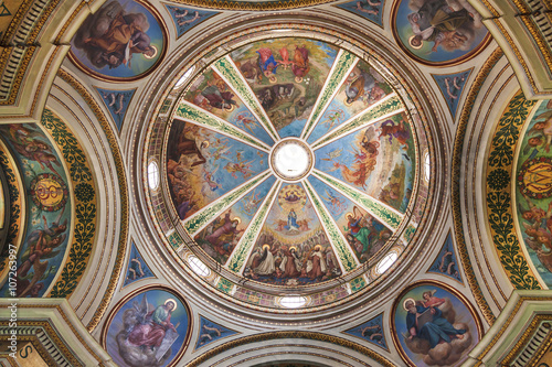 Photo  The dome of the Church of Stella Maris Carmelite Monastery (or Monastery of Our