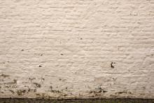 Hintergrund - Grob Verputzte Gelbe Ziegelsteinmauer