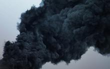Black Cloud Of A Terrible Expl...