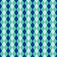 Seamless Diamond Harlequin Background Pattern Texture