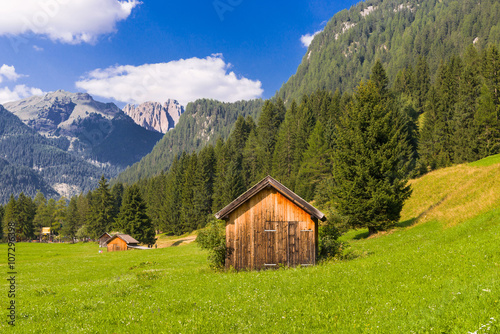 Photo Stands Europa Idyllic mountain landscape