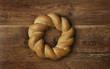 Braided Round Bread