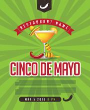Cinco De Mayo Ad, Poster, Menu...