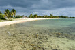 The sandy beach named Playa Giron on Cuba