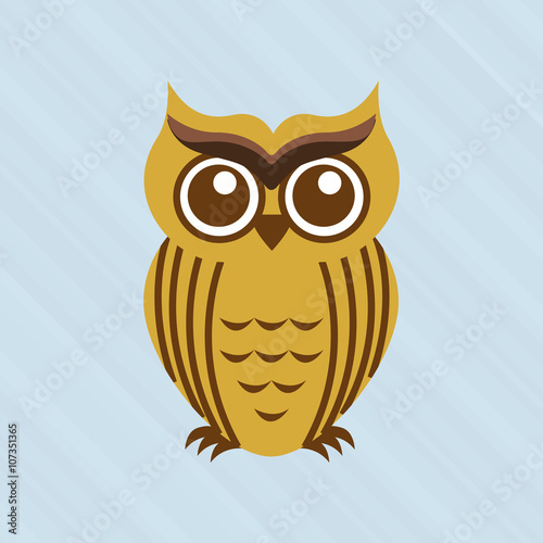 Photo Stands owl bird design