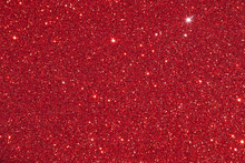Red Glitter Bokeh Abstract Background
