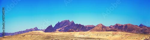 Keuken foto achterwand Blauw Fuerteventura panorama