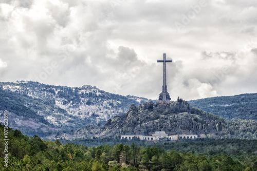 Aluminium Prints Brazil Valley of the Fallen (Valle de los Caidos), Madrid, Spain.
