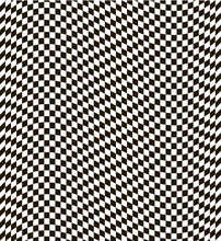 Checkered Black And White Back...